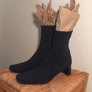 LIKE NEW Vintage Paul Green Square Toe Sock Boots